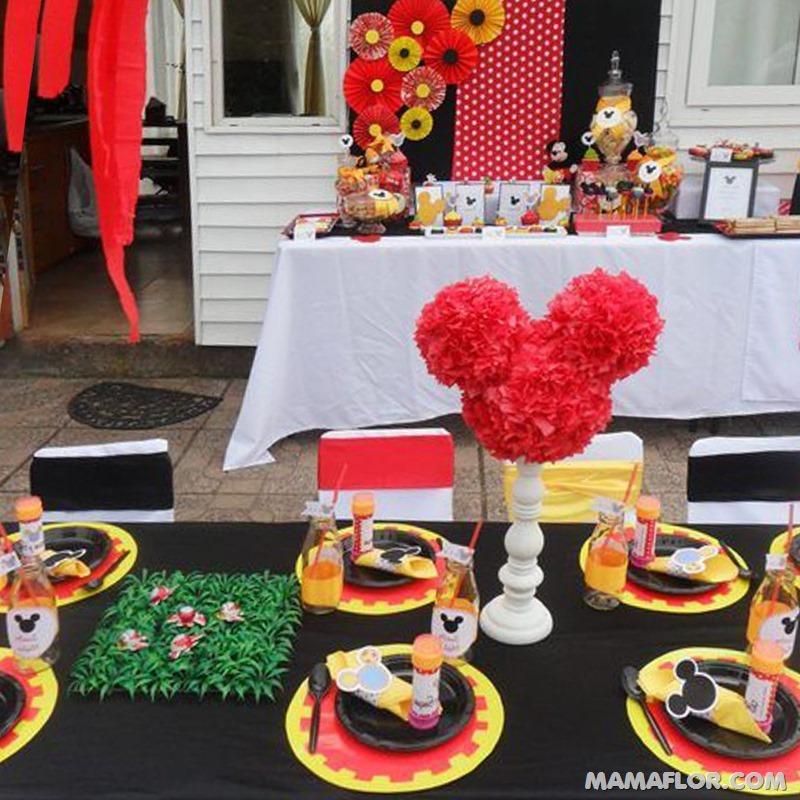 centro de mesa mickey y minnie mouse --- (31)