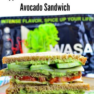 Wasabi Cheese & Avocado Sandwich
