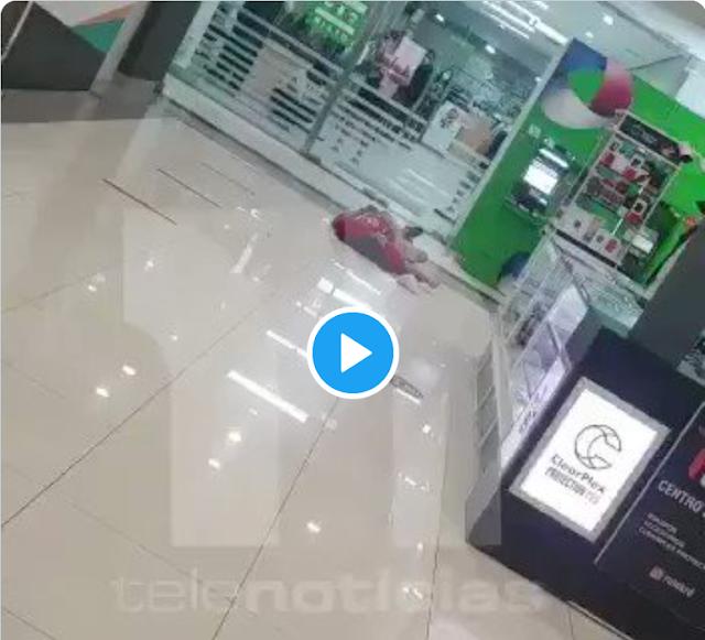 Agente de Seguridad mata a joven que estaba en cajero automático del banco BHD