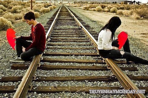 Bộ ảnh tình yêu buồn và cô đơn khi hai người xa cách