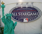 Statue of Liberty at the 2008 All Satrs Game