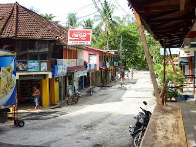 Dorf an der Pazifikküste