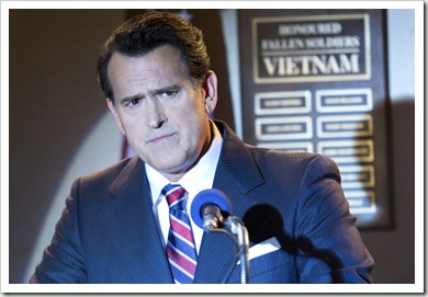 "FARGO -- ""The Gift of the Magi"" -- Episode 205 (Airs November 9, 10:00 pm e/p) Pictured: Bruce Campbell as Ronald Reagan. CR: Chris Large/FX"