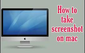 How to take screenshot on mac