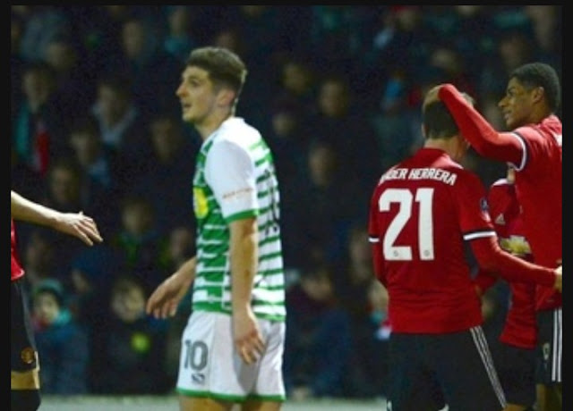 Manchester United vs Yeovil FA Cup match highlight