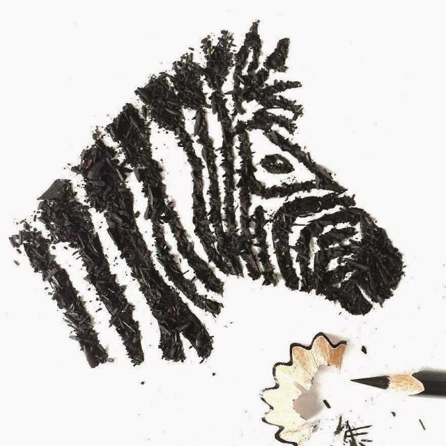 10 idea kreatif simple dari habuk asahan pensel yang owsem.
