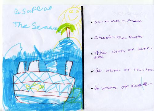 Sea safety checklist - Richard