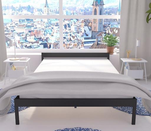 Łóżko metalowe Kapsztad (wzór 1) (140-200 cm)