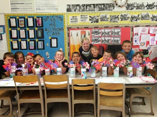 Mrs Allison s Third Grade 2014 2015 Mother s Day crafts
