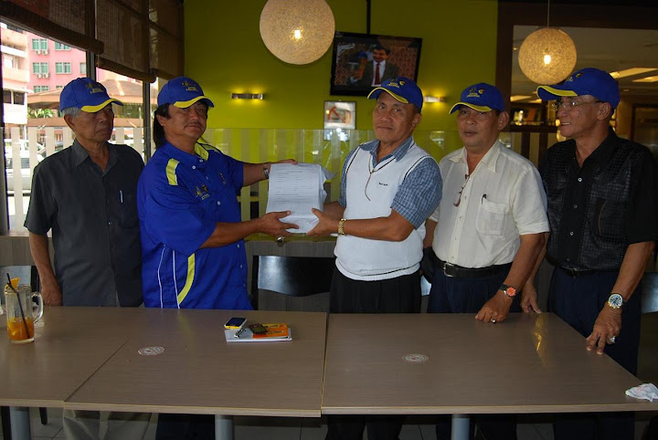 Presiden En. Mohd Sabri bersama KVTTB Sibu