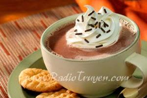 Chocolate nóng và cà phê không đường