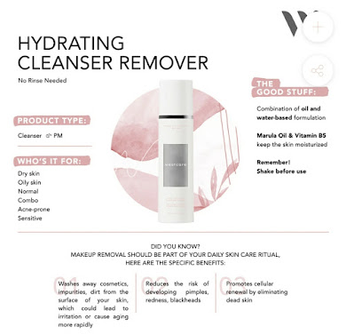 Manfaat Westcare Hydrating Cleanser Remover
