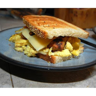 Breakfast Egg Sandwich