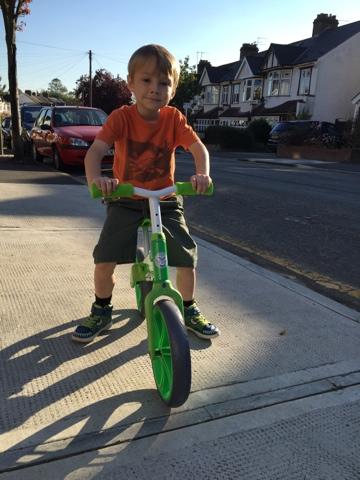 Emma In Bromley Yvolution Velo Balance Bike Review