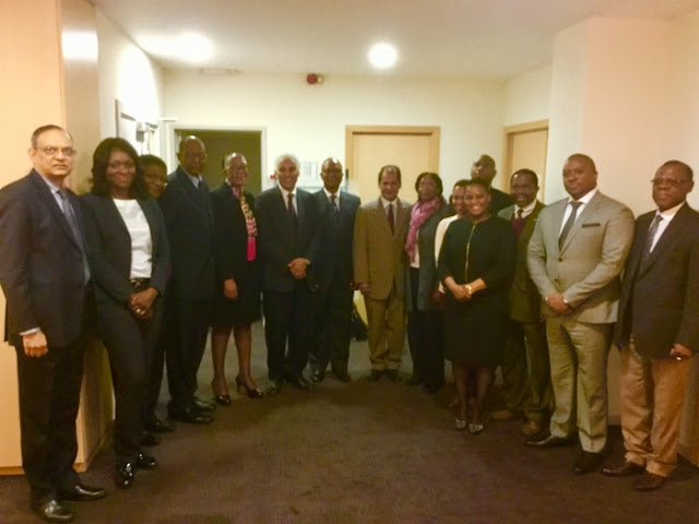 Saharawi Delegation received by SADC Group of Ambassadors in Brussels