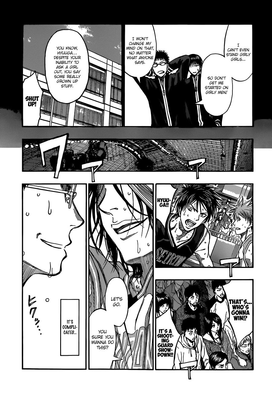 Kuroko no Basket Manga Chapter 242 - Image 06