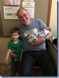 Oliver, Grandpa, and Martin