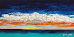158 - Anguilla - 2006 100 x 50 - Technique mixte sur toile