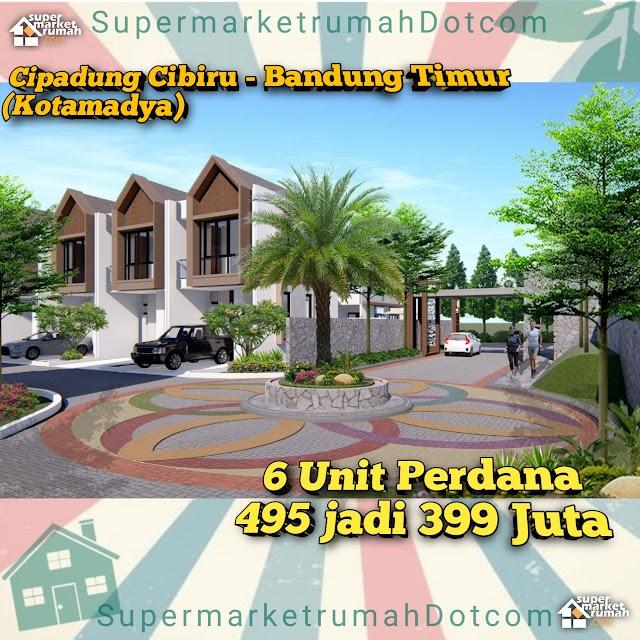 Rumah di Kotamadya Bandung dengan Udara Sejuk di kawasan Bandung Timur