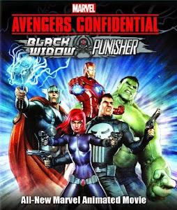 Biệt Đội Avengers: Góa Phụ Đen Và Kẻ Trừng Phạt - Avengers Confidential: Black Widow And Punisher poster