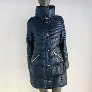 Karl Lagerfeld Packable Down Puffer Coat