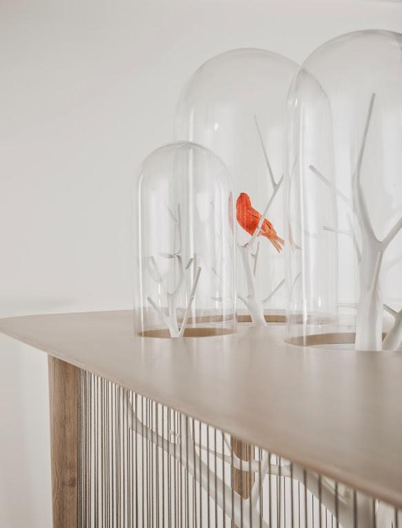 *景觀鳥籠書桌:法國藝術家Grégroire de Laforrest愜意的結合 4