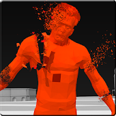 Red Superhot Shooter