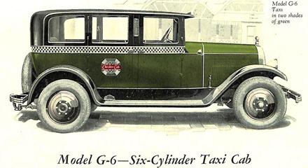 Checker 1927 Model G-6