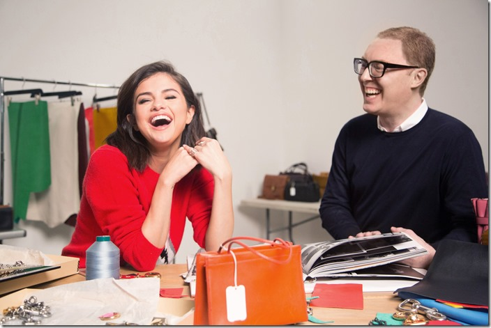 Selena Gomez and Stuart Vevers