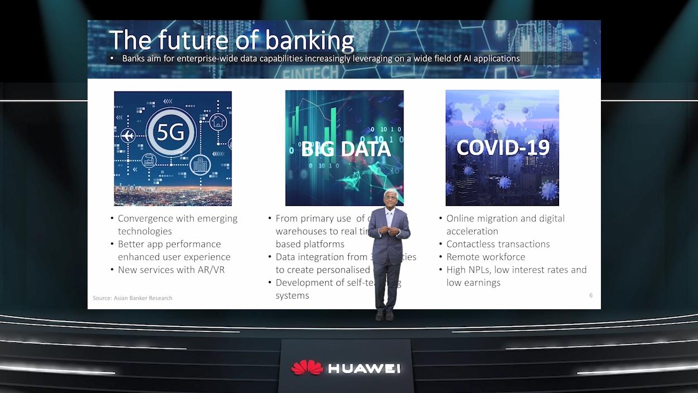 """Huawei จัดสัมนาออนไลน์ """"5G ปลดปล่อยพลังแห่งข้อมูล ขับเคลื่อนสู่โลกแห่งธุรกรรมอัจฉริยะ"""""""