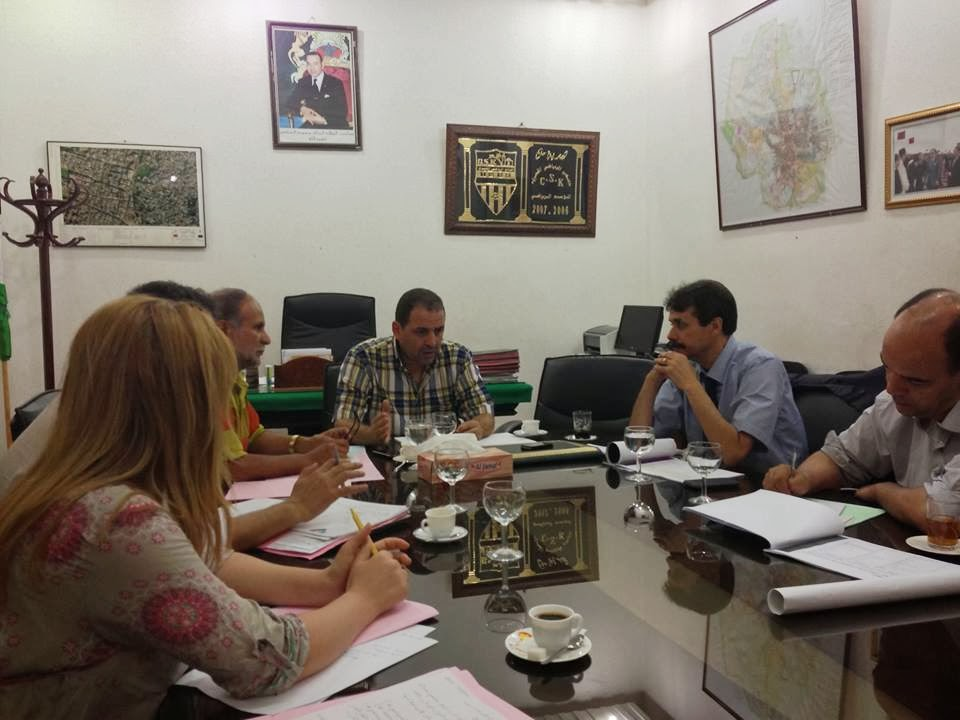 القصر الكبير: سعيد خيرون يلتقي مدير الوكالة الحضرية بإقليم العرائش