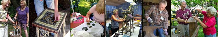 Art and Craft Workshops at Shake Rug Alley in Mineral Point WI near Madison Wisc.