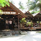 Sipadan Mabul Resort (SMART) main building and restaurant