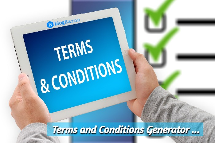 Free terms and conditions generator