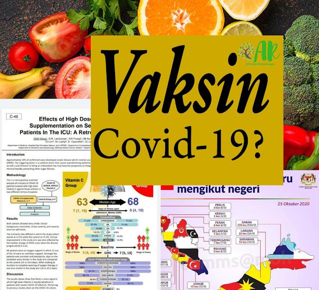 Kajian Vitamin C terhadap pesakit covid-19