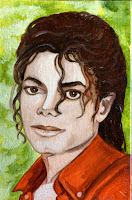Michael Jackson sunny MJ Portret