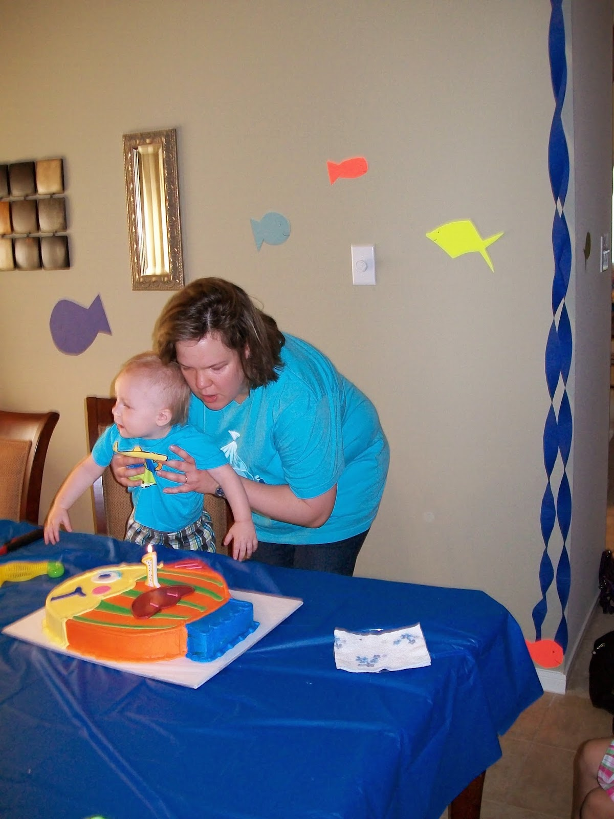 Marshalls First Birthday Party - 100_1407.JPG