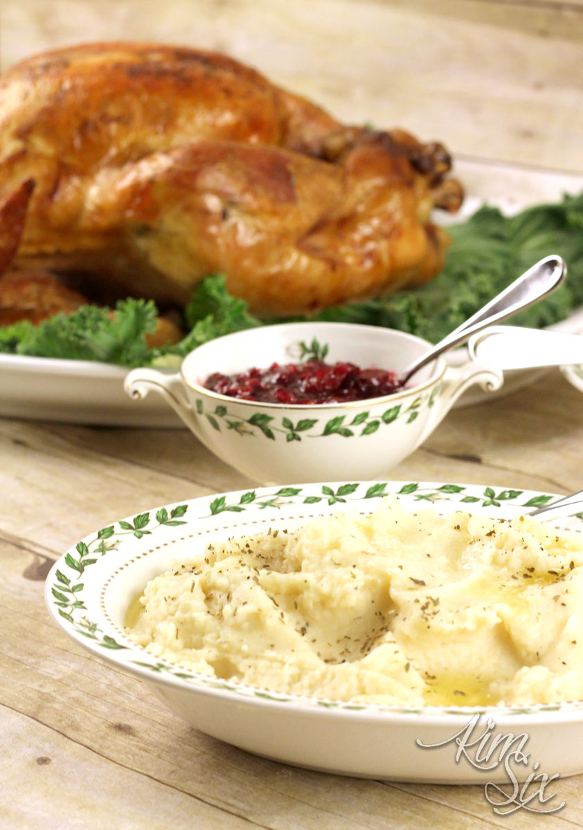 Mashed potatos from boston market thanksgiving