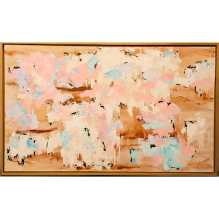 J. Linderman Signed Large Scale Oil Painting