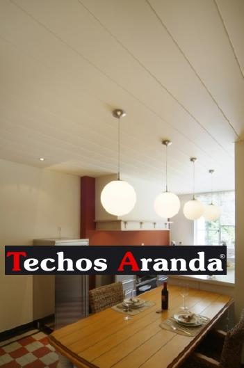 Imagen de techo de aluminio para cocina Madrid