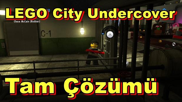 LEGO City Undercover Tam Çözümü