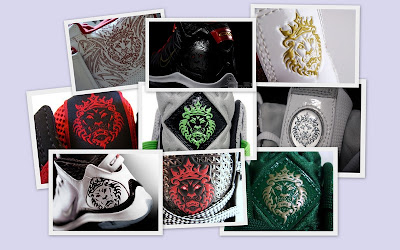 news logo collage lionhead A Look at Unreleased LeBron James Signature... Logo