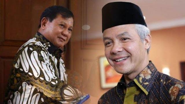 Prabowo, Ganjar dan RK Calon Kuat Capres 2024.