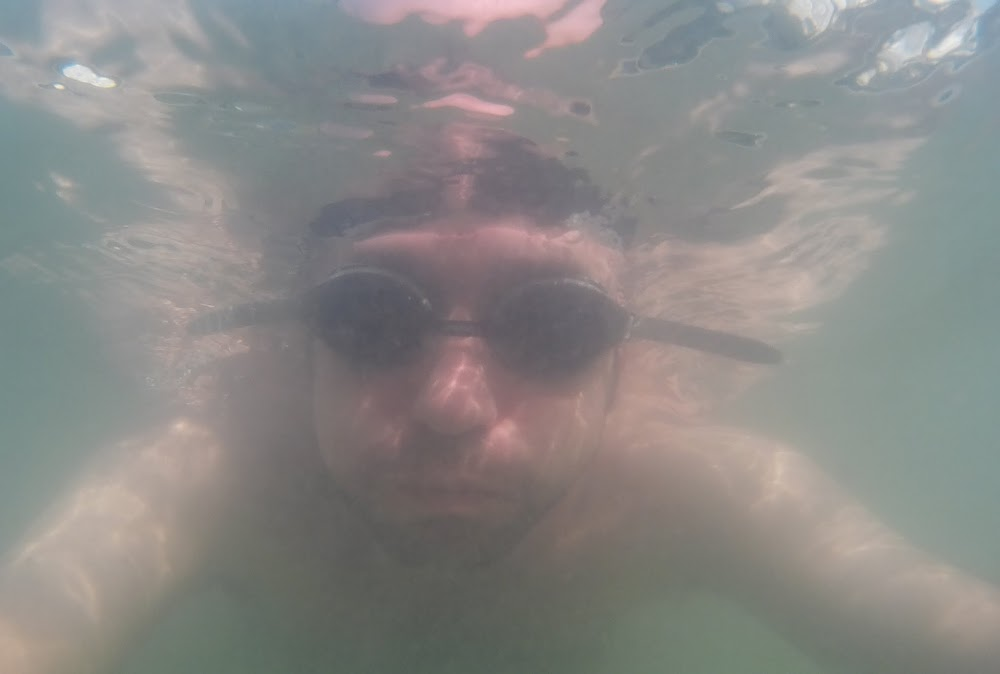 testing out my new underwater camera!