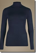 Marks and Spencer Heatgen Long Sleeved Polo Neck Top
