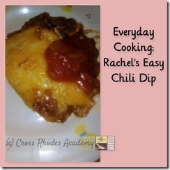 Everyday Cooking- Chili Dip