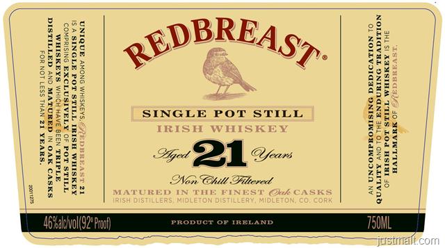 Redbreast 12-Year & 21-Year