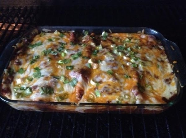 Add salsa and sour cream if desired. Serve with rice and beans (try Bush's...