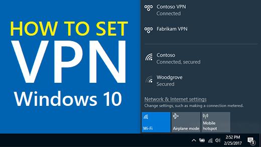 How to Manually Configure a VPN on Windows 10