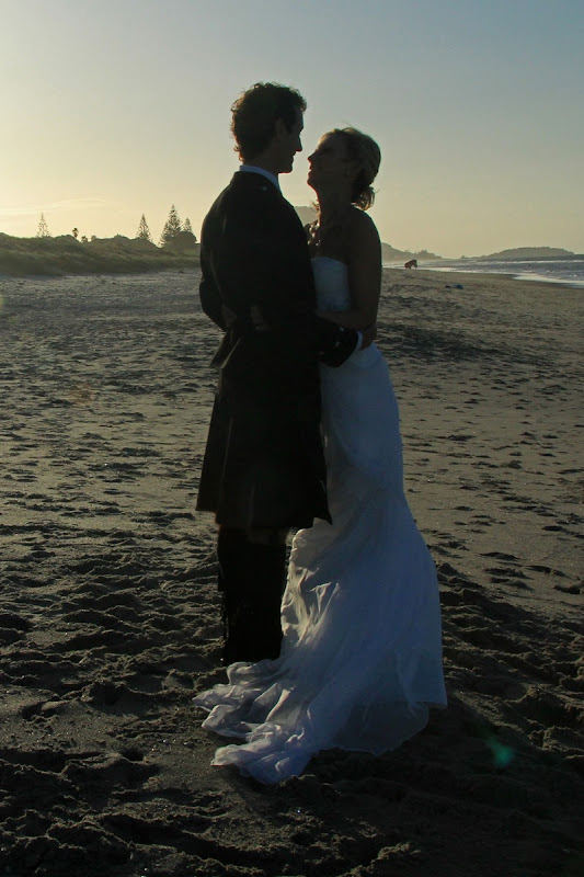 Married on the beach. Credit Ronnie Macdonald